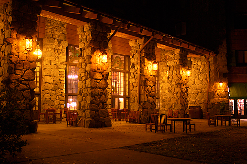 The Ahwahnee Hotel exterior