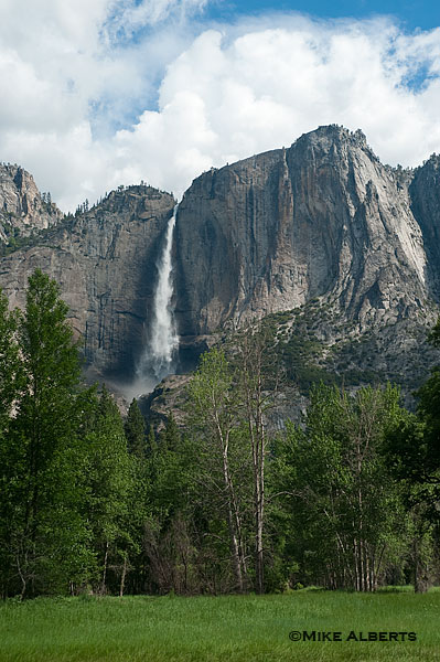 Upper Yosemite Fall (photo by Mike Alberts)
