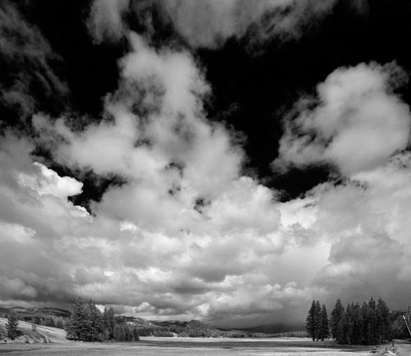 Clouds over Tuolumne Meadows