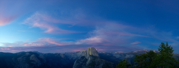 As the lgiht faded, a fitting end to the weeklong Yosemite Photography Workshop.