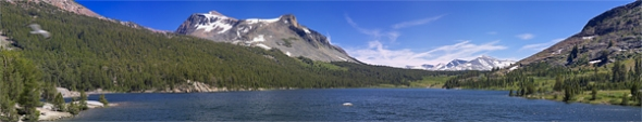 A very wide pano of Tioga Lake consisting of 9 stitched images