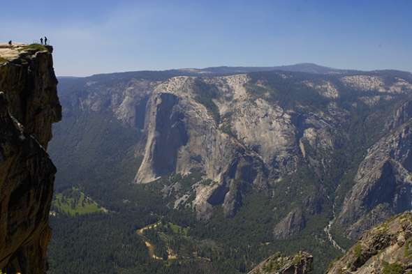 Taft Point off Glacier Point Road