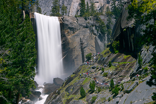 Rene captured this great shot of Vernal Fall